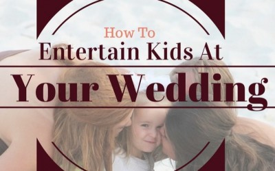 How to keep kids entertained at your wedding