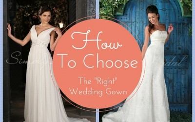 How to Choose the Right Wedding Gown for Your Shape